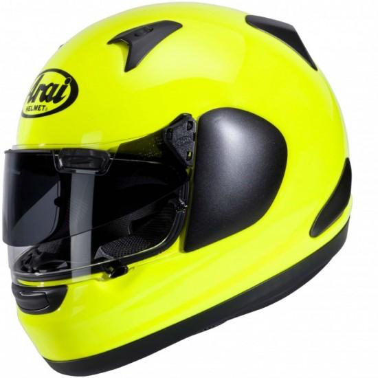 Arai QV-PRO Fluor Yellow Full Face Helmet