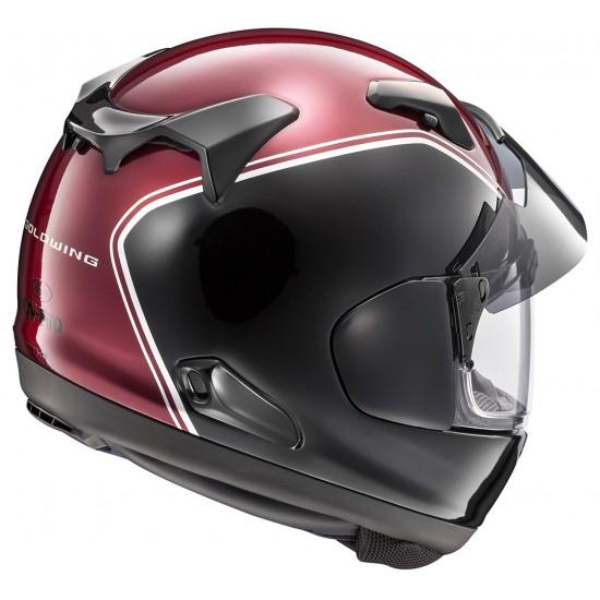 Arai QV-Pro Gold Wing Red Full Face Helmet