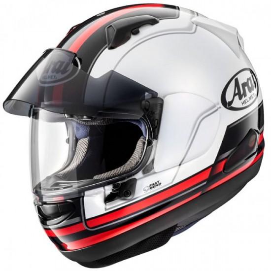 Arai QV-PRO Stint Red Full Face Helmet