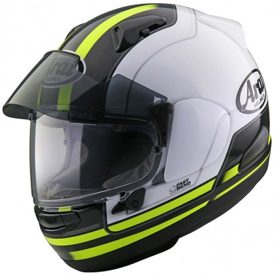 Arai QV-PRO Stint Yellow Full Face Helmet
