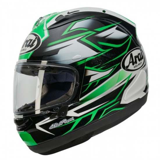 Arai RX-7V Ghost Green Full Face Helmet
