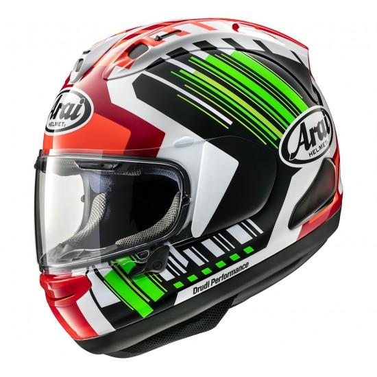 Arai RX-7V Rea Green Full Face Helmet