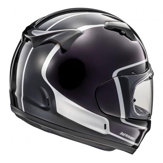 Arai Renegade-V Outline Black Purple Full Face Helmet