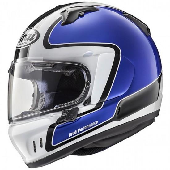 Arai Renegade-V Outline Blue Full Face Helmet