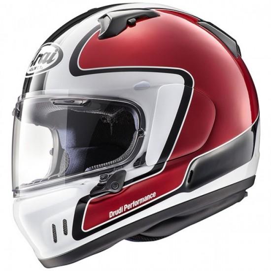 Arai Renegade-V Outline Red Full Face Helmet