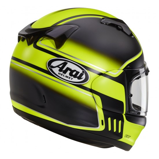 Arai Renegade-V Shelby Fluor Yellow Full Face Helmet