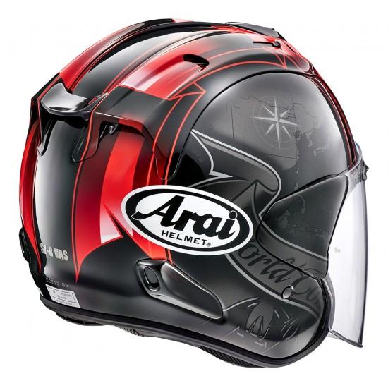 Arai SZ-R Vas Harada Tour Black Open Face Helmet