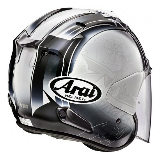 Arai SZ-R Vas Harada Tour White Open Face Helmet