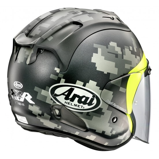 Arai SZ-R Vas Mimetic Matt Open Face Helmet
