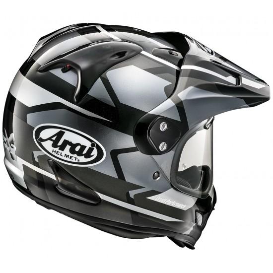 Arai Tour-X4 Depart Gun Metallic Full Face Helmet