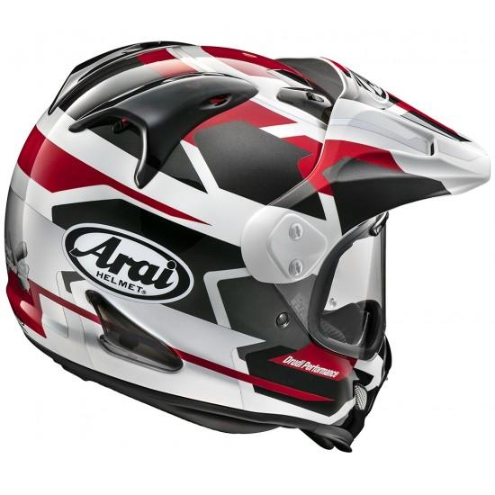 Arai Tour-X4 Depart Red Metallic Full Face Helmet