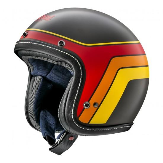 Arai Urban-V Blitz Black Matt Open Face Helmet