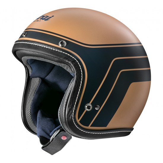 Arai Urban-V Blitz Copper Matt Open Face Helmet