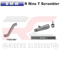 Arrow Pro-Race Nichrom Silencer BMW R NineT / Scrambler MPN - 71657MI + 71503PRI