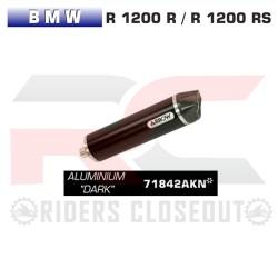 Arrow Race-Tech Aluminium Dark Silencer With Carbon Cap BMW R 1200 R / RS MPN - 71842AKN