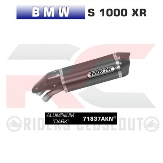 Arrow Race-Tech Aluminium Dark Silencer With Carbon End Cap BMW S 1000 XR MPN - 71837AKN