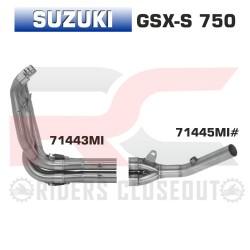 Arrow Racing Collectors Suzuki GSX-S750 MPN - 71443MI + 71445MI
