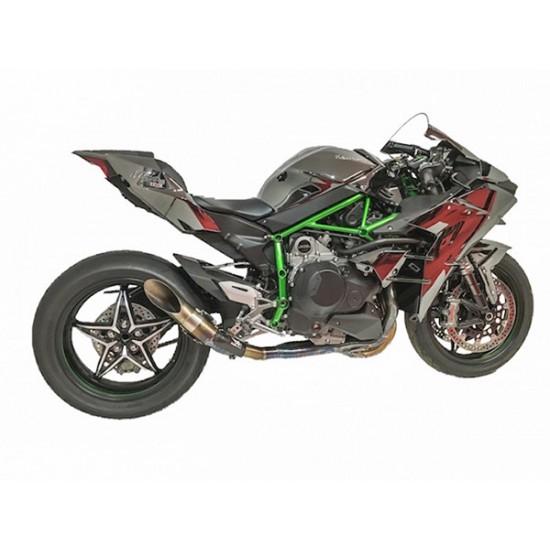 Austin Racing Full Exhaust Systems Kawasaki Ninja H2
