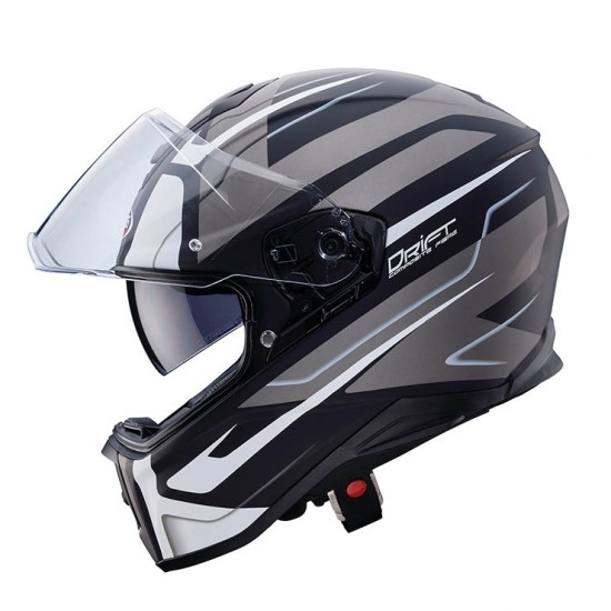 Caberg Drift Shadow Matt Black White Anthracite Full Face Helmet