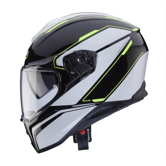 Caberg Drift Tour Black White Yellow Full Face Helmet