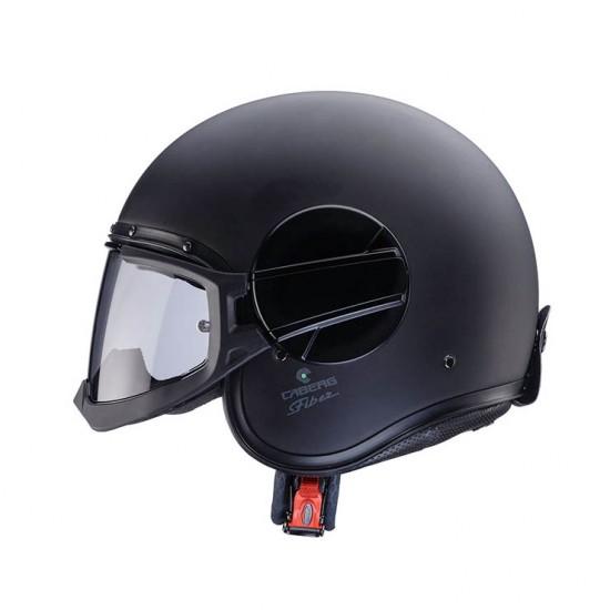 Caberg Ghost Matt Black Jet Helmet