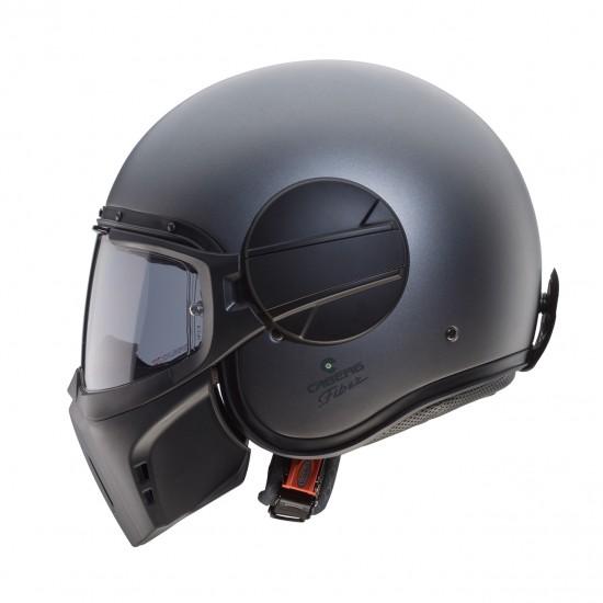 Caberg Ghost Matt Gun Metal Jet Helmet