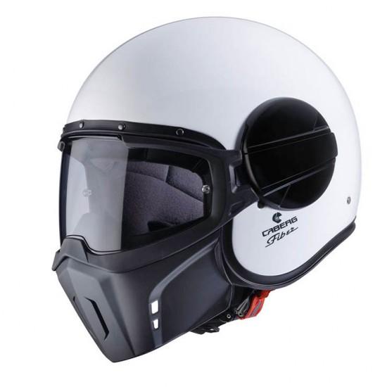 Caberg Ghost White Jet Helmet