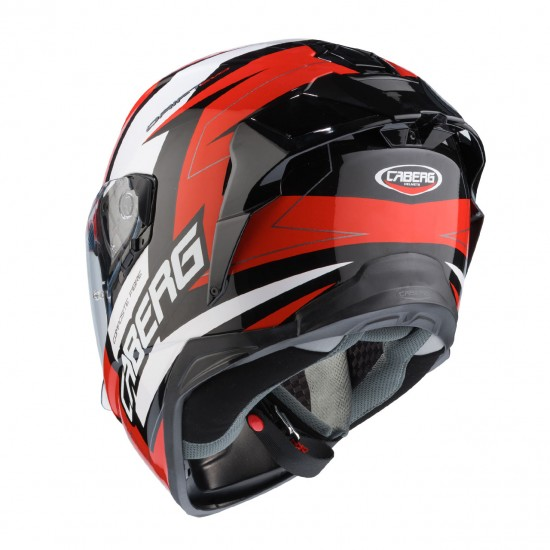 Caberg Drift Evo Speedster Black Red White Full Face Helmet
