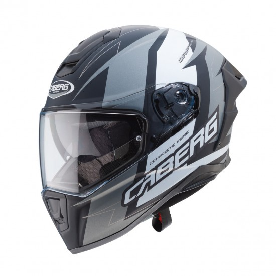 Caberg Drift Evo Speedster Matt Black Anthracite white Full Face Helmet