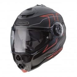 Caberg Droid Blaze Matt Black Red Modular Helmet