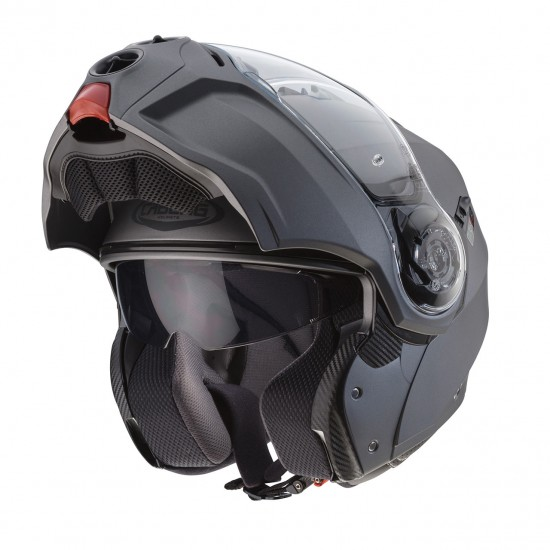 Caberg Droid Patriot Matt Gun Metal Anthracite Modular Helmet
