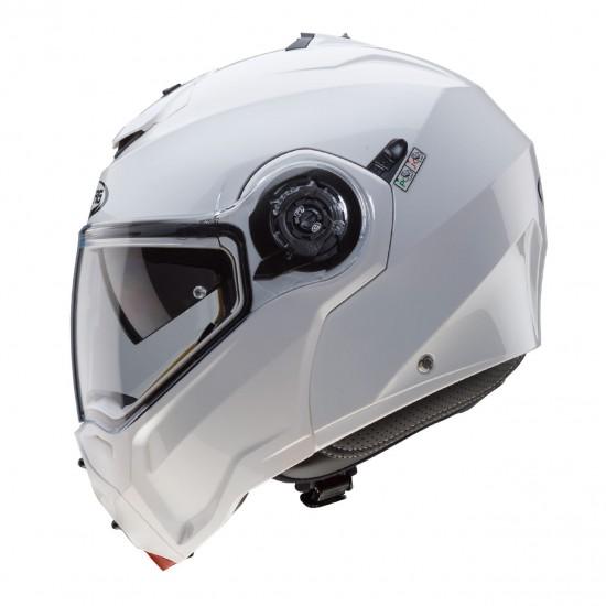 Caberg Droid Patriot Metal White Modular Helmet