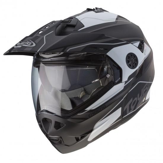 Caberg Tourmax Marathon Matt Black White Anthracite Modular Helmet