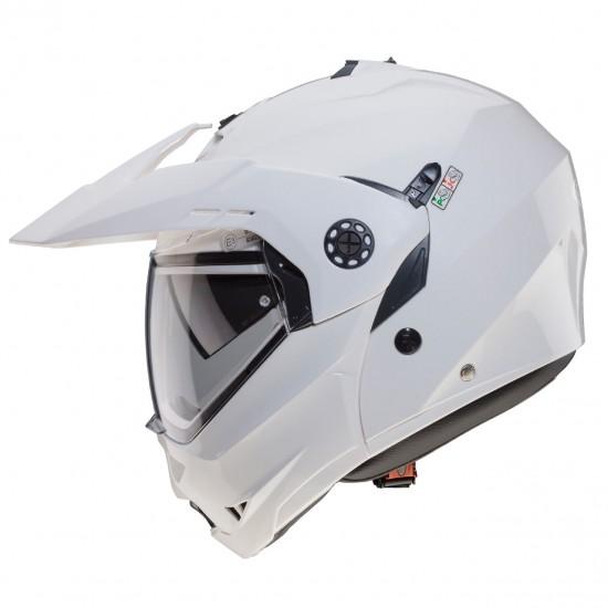 Caberg Tourmax Metal White Modular Helmet