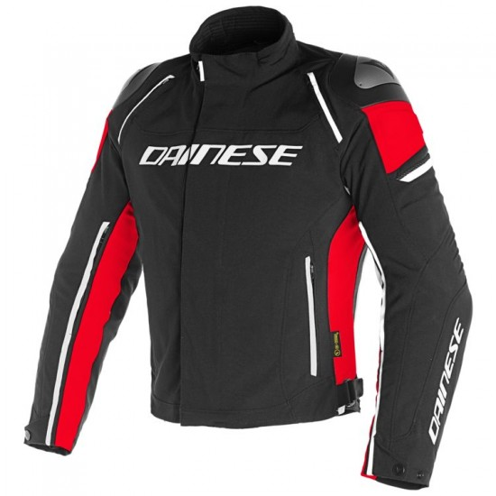 Dainese D-Dry Jacket - Racing 3 Black Black Red