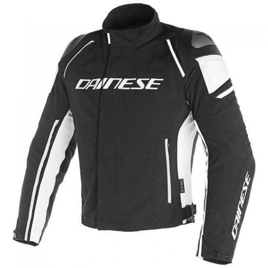 Dainese D-Dry Jacket - Racing 3 Black Black White