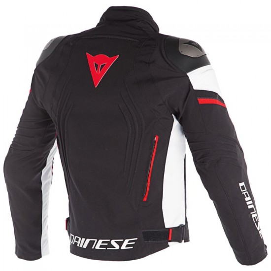Dainese D-Dry Jacket - Racing 3 Black White Red