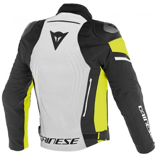 Dainese D-Dry Jacket - Racing 3 Glacier Gray Black Yellow