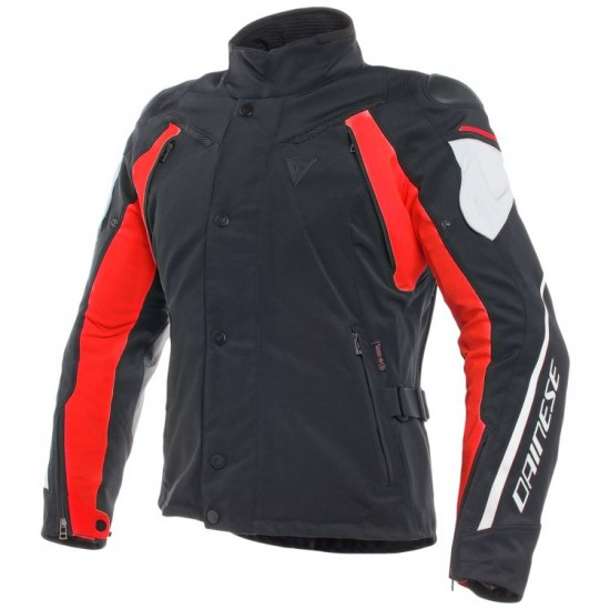 Dainese D-Dry Jacket - Rain Master Black Gray Red