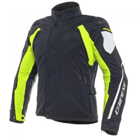 Dainese D-Dry Jacket - Rain Master Black Gray Yellow