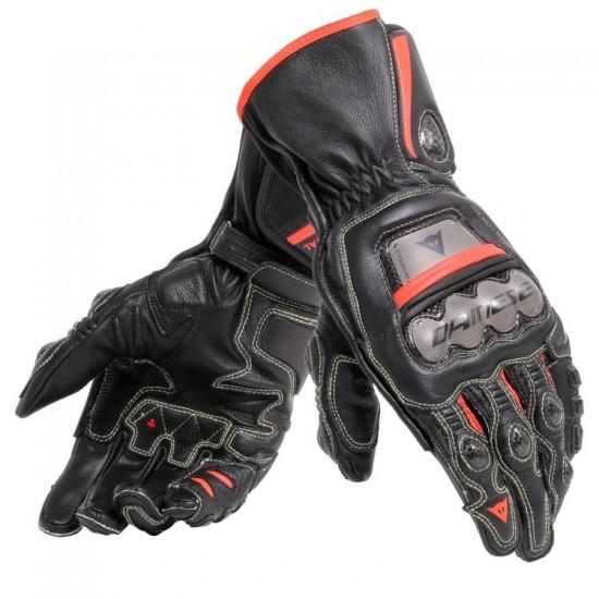 Dainese Full Metal 6 Gloves - Black Black Red