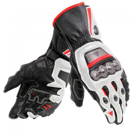 Dainese Full Metal 6 Gloves - Black White Red