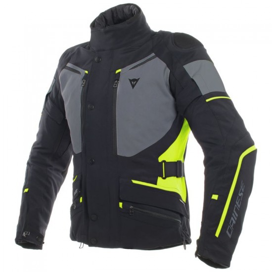 Dainese Gore-Tex Jacket - Carve Master 2 Black Ebony Yellow