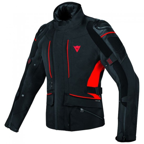 Dainese Gore-Tex Jacket - D-cyclone Black Black Red