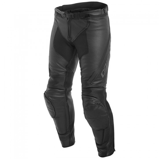 Dainese Perforated Leather Pants - Assen Black Anthracite