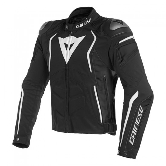 Dainese Textile Jacket - Dyno Black Black White