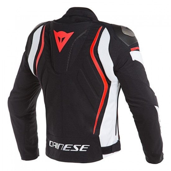 Dainese Textile Jacket - Dyno Black White Red