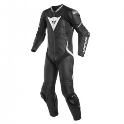 Dainese Laguna Seca 4 Perforated 1PC Leather Black Black White Suit