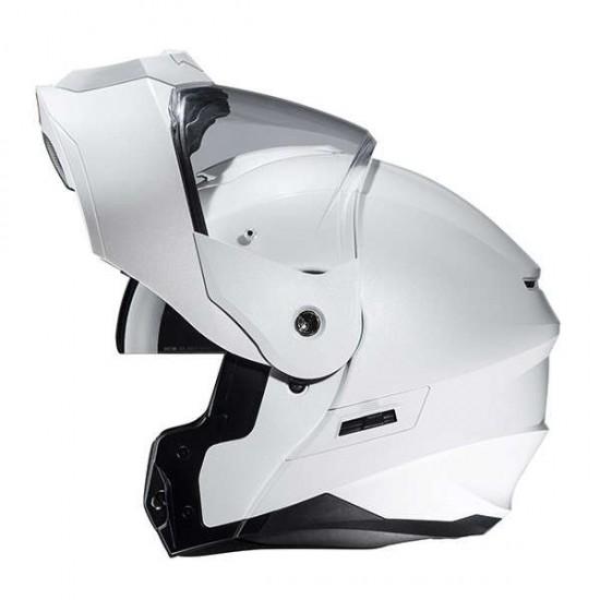 HJC C80 Pearl White Modular Helmet