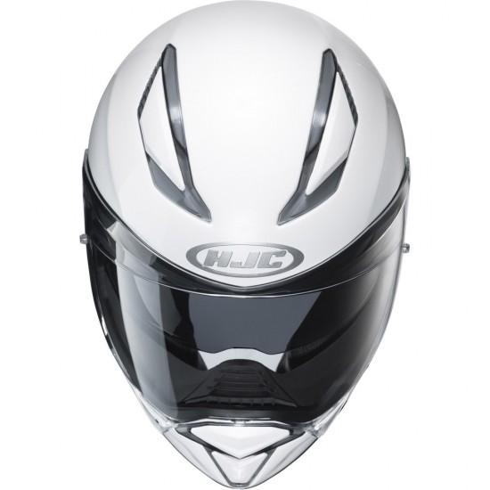 HJC F70 Pearl White Full Face Helmet